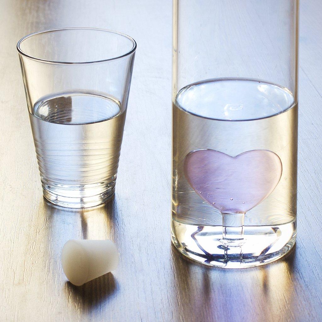 balvi/-/Glasflasche/Deep/Sea/mundgeblasenem/Glas