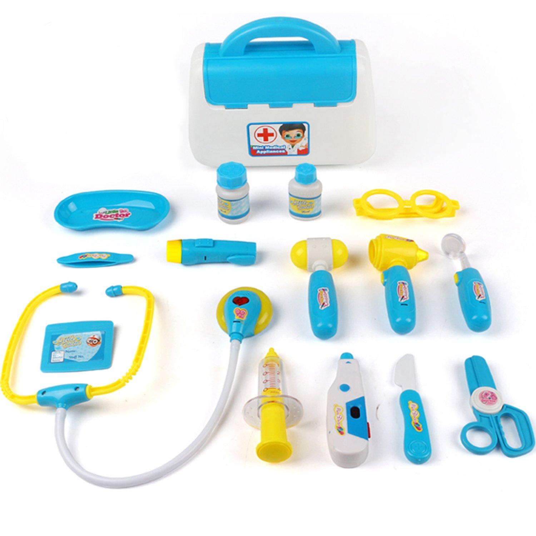 TurnRaise Cuadro Médico Conjunto Enfermera Médico Kit Parque Infantil para Niños Fingir