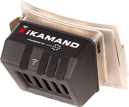 Kamado Joe BJ-IKAMANDNA iKamand Smart Temperature Control and Monitoring Device for Big Joe Grills, Black