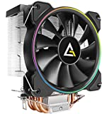 Antec CPU Cooler, A400 RGB, 4-Pin Connector PWM Silent Fan for Intel LGA 775/1150 / 1151/1155 / 1156/1366 / 2011/2066…