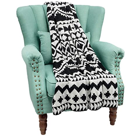 Super Amazon Com Walhome Knit Throw Blanket Soft Warm Textured Ncnpc Chair Design For Home Ncnpcorg