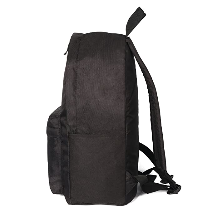 93fe5346717 Amazon.com   Amzbeauty Black School Bags for Elementary Middle School  Students Backpack Organizer   Kids  Backpacks