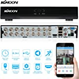 KKmoon 16CH H.264 HD DVR 960H D1 CCTV Network Mobile Motion Detection Standalone HDMI Home Surveillance Security System Real Time