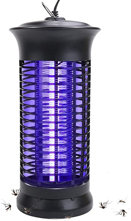 Electric Insect Mosquito Fly Killer Bug Zapper LED UV Indoor Pest Catcher Trap