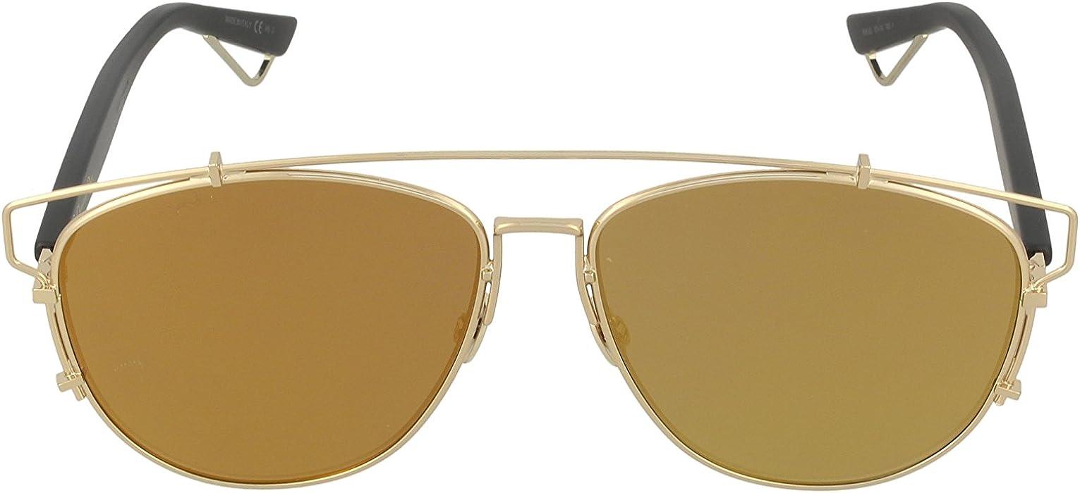 ea6b5a64bff Amazon.com  Christian Dior Technologic Sunglasses Gold Aviator  Dior ...