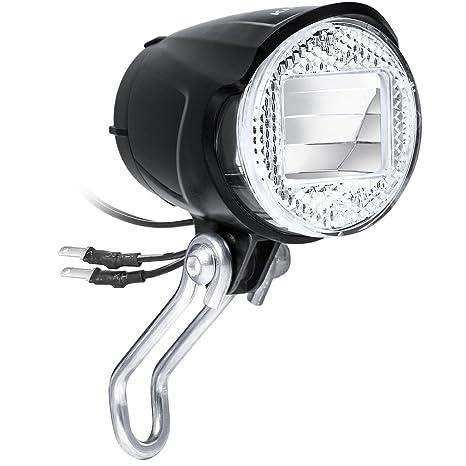 KINGTOP [Versión Actualizada] Luces de Bicicleta Faro Bici LED ...
