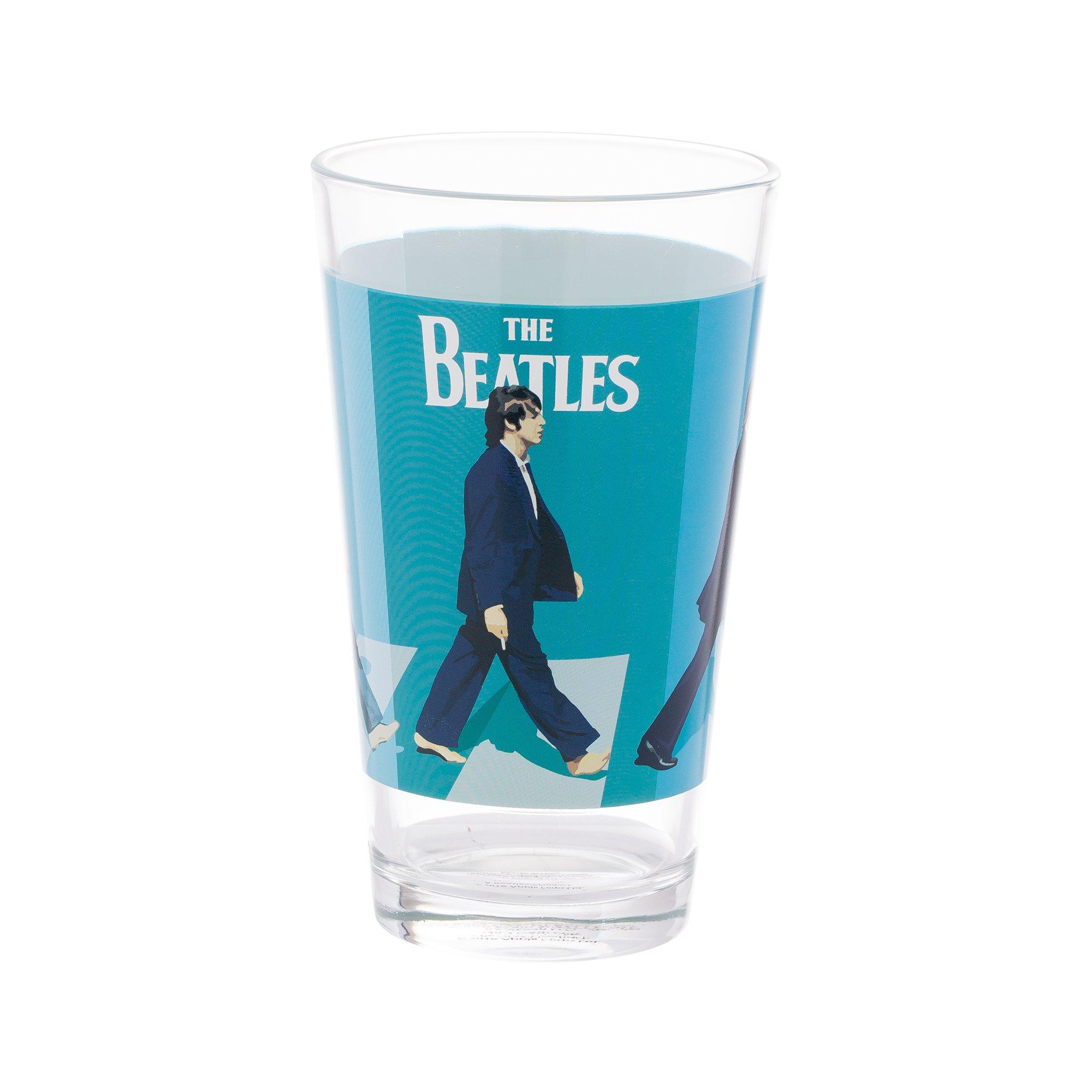 Vandor The Beatles Abbey Road 4 Piece 16 Ounce Glass Set (72012) by Vandor (Image #3)