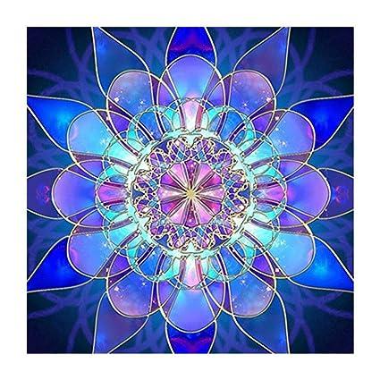 5d517fc575 DIY 5D Full Drill Diamond Painting By Number Cross Stitch Diamond Mosaic  Mandala Painting Handmade Kits
