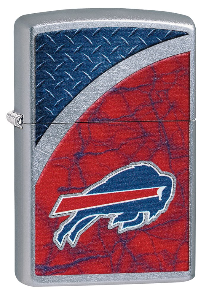 Zippo NFL Bills Street Chrome Lighter by Zippo