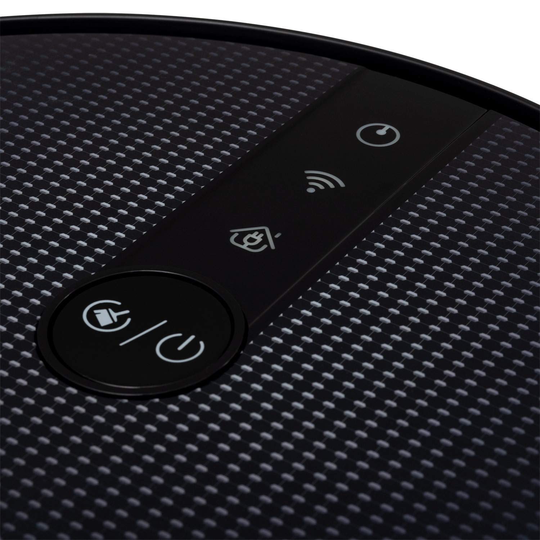 WiFi Potencia de Succi/ón 1800 Pa con Mapeo y App Google Home Compatible Alexa 220-240 V Sensores Anticolisi/ón y Antica/ídas IKOHS NETBOT S18 Navegaci/ón Inteligente Robot Aspirador 4 en 1