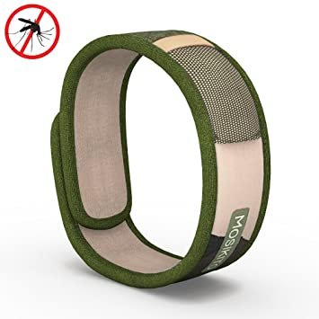 Moskitito   Mosquito Repellent Bracelet With 4 FREE Refills U2013 Best Travel Insect  Repellent To Kill
