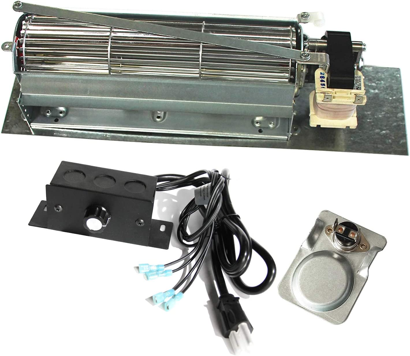 FK24 Replacement Fireplace Blower Fan KIT for Monessen Vermont New