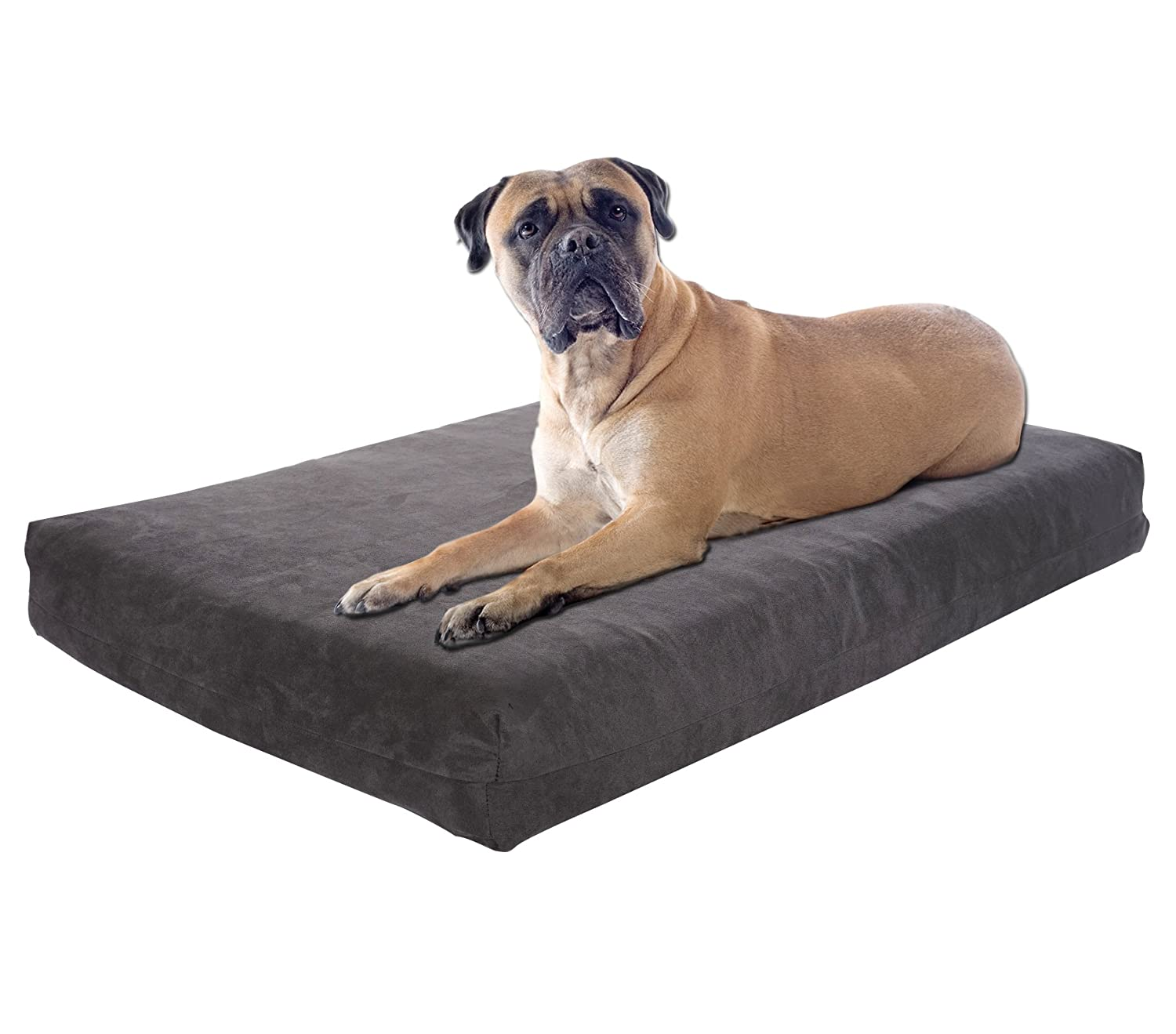 Pet Support Systems Orthopedic Gel Memory Foam Dog Beds – Eco Friendly, Hypoallergenic and Made in The USA, Supreme Luxury Comfort and Care for Dogs with Removable and Washable Cover
