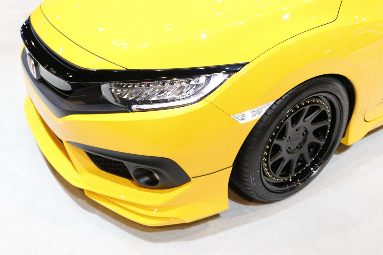 Replace OEM Amber Sidemarker Lamps iJDMTOY JDM Clear Lens White LED Bulb Front Side Marker Light Kit For 2016-up Honda Civic Sedan//Coupe//Hatchback