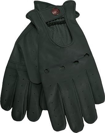 2e9fcd5f75b678 German Wear, Herren Driving Autofahrer-Handschuhe Lederhandschuhe:  Amazon.de: Bekleidung