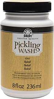 product image for FolkArt Pickling Wash in Assorted Colors (8 oz), Soleil