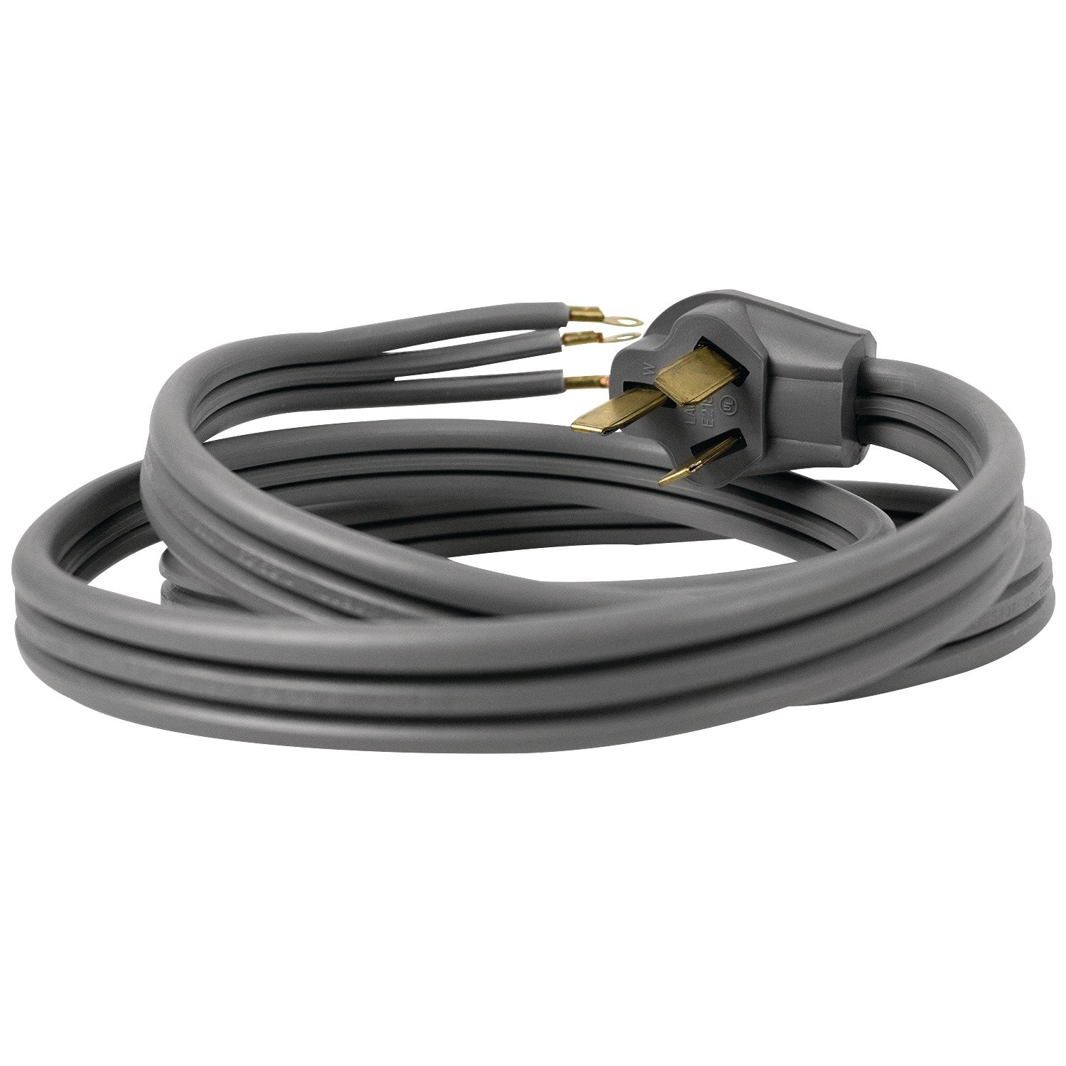Certified Appliance Accessories 3 Wire Closed Eyelet 50 Dryer Plug Wiring Maytag Receptacle Amp Range Cord 10ft Home Improvement