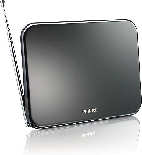 Philips SDV6224/12 - Antena de TV, negro: Amazon.es: Electrónica