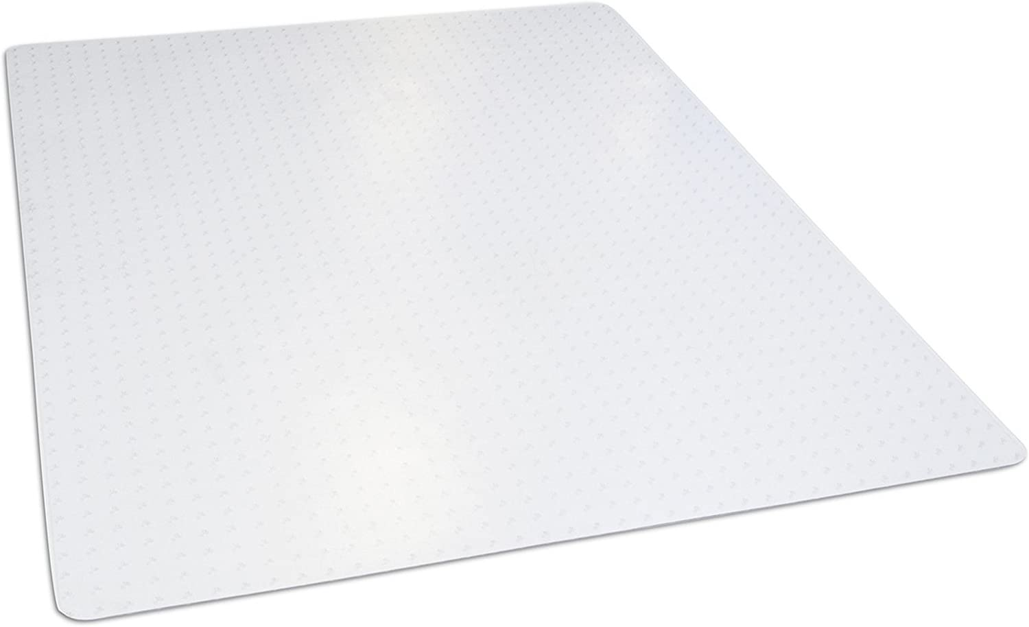 """Dimex 46""""x 60"""" Clear Rectangle Office Chair Mat For Low Pile Carpet, Made In The USA, BPA And Phthalate Free, C532003G : Office Products"""