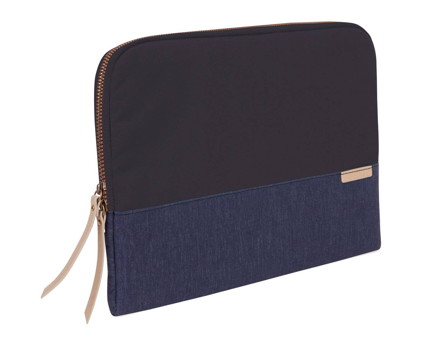STM 931-105Z-44 Blue Polyester Women Clutch bag