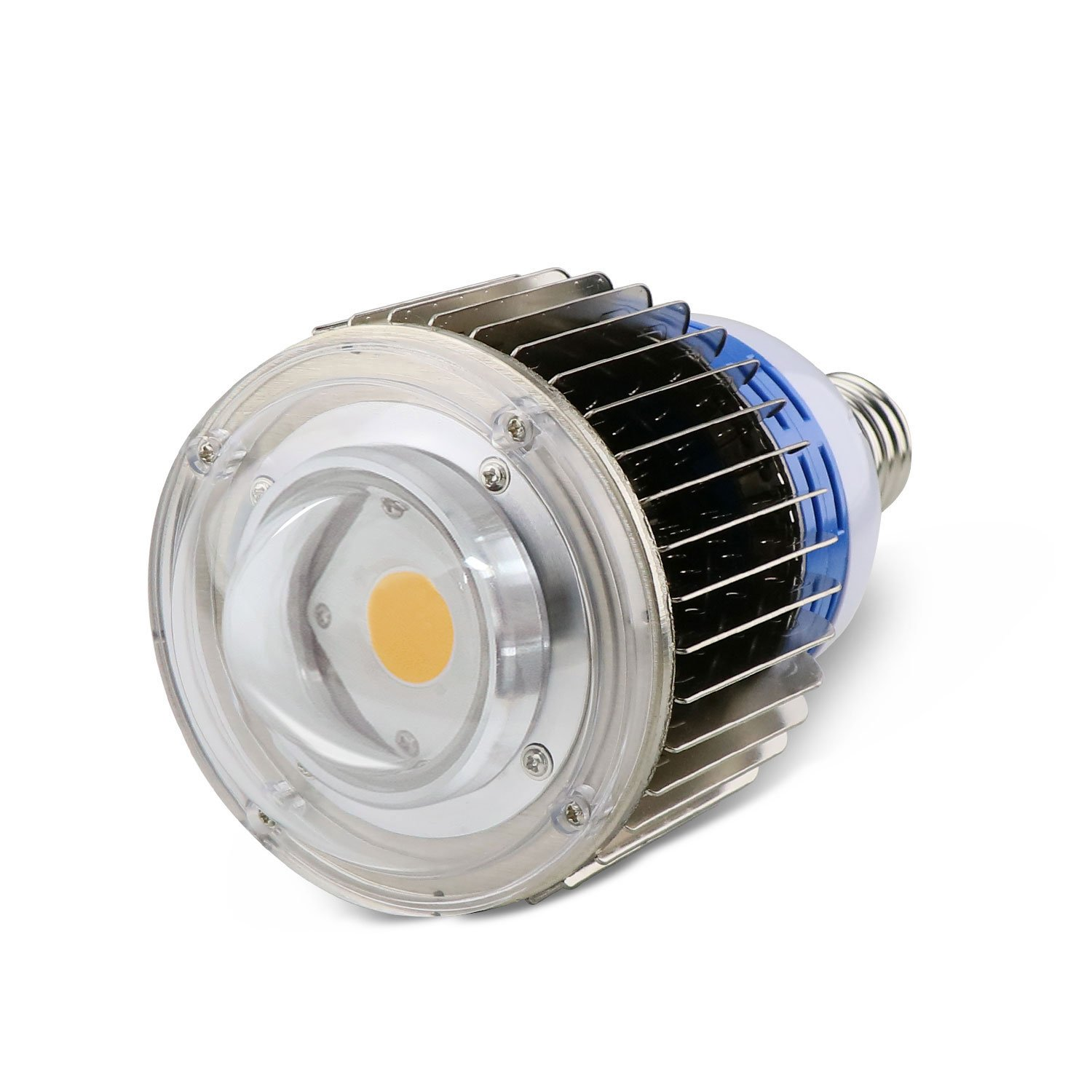 100W COB LED Grow Light Bulb,Citizen CLU48-1212 Led Plant Bulb Full Spectrum Grow Lights for Hydroponics Indoor Plants with Veg and Bloom,E27 Base with CITILED 3500K by YXO YUXINOU