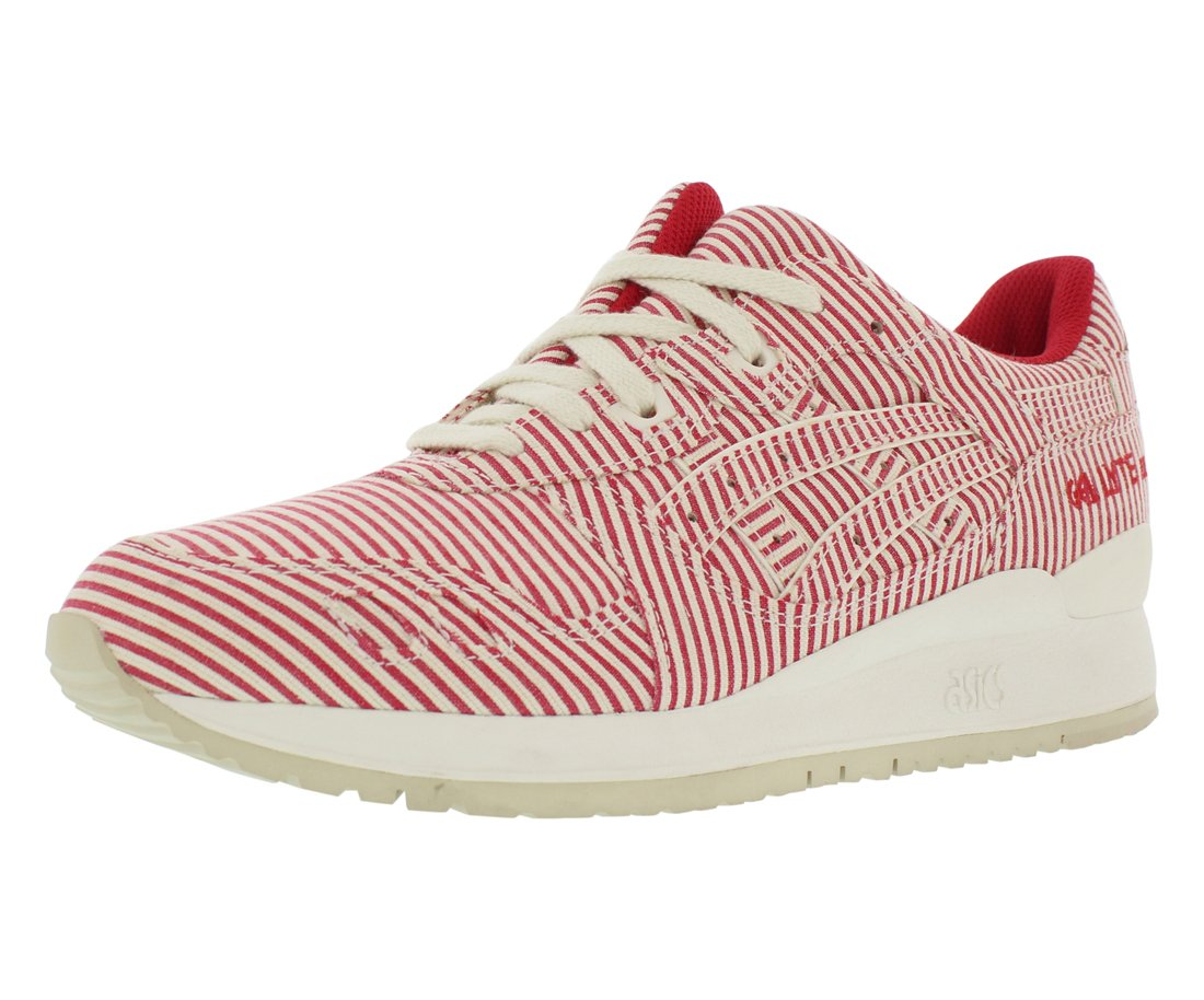 brand new a2239 2b18a ASICS Men's Gel-Lyte Iii Classic Red/Ankle-High Leather Running Shoe - 11.5M