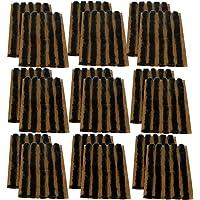 AERZETIX: Juego de 90 mechas 6mm 10cm Negro