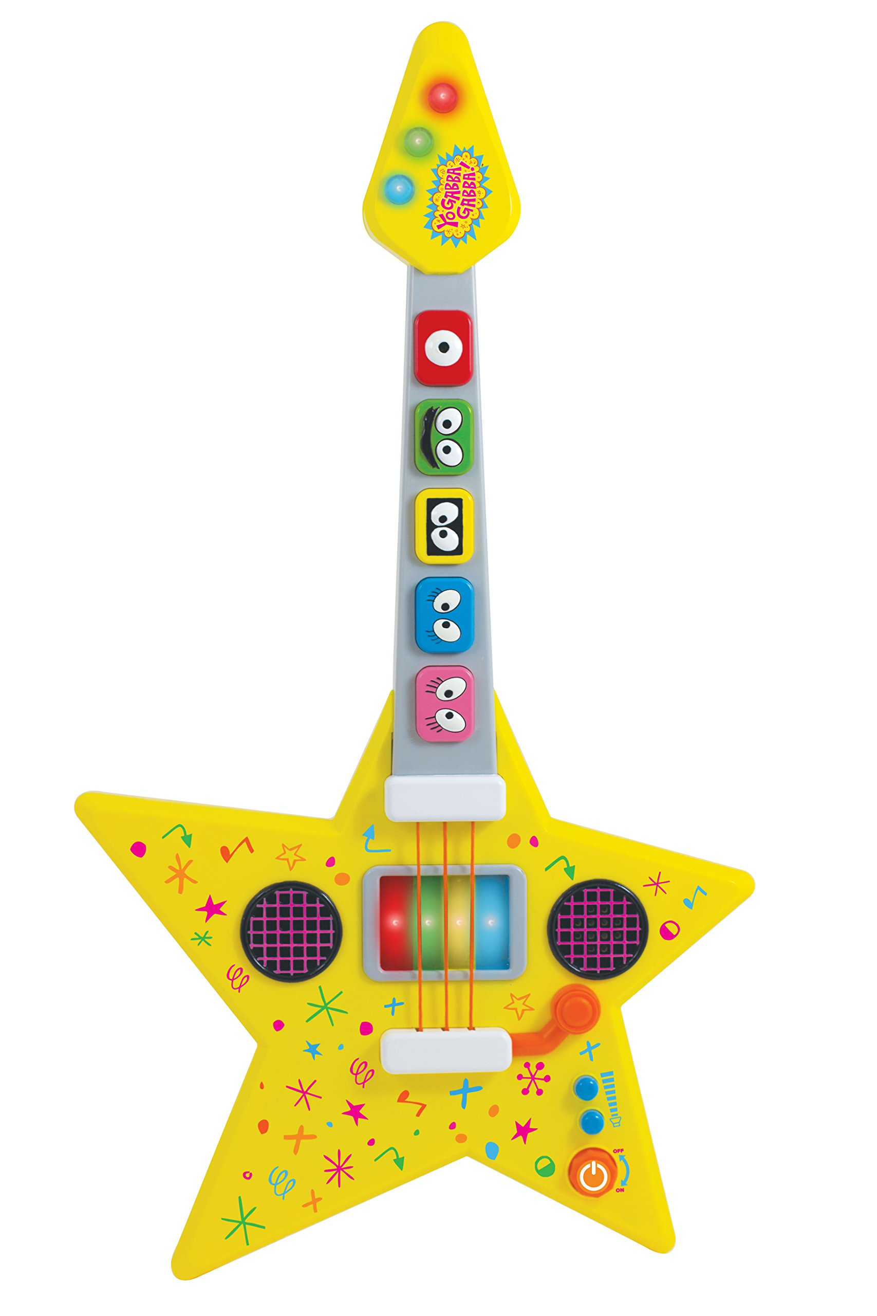 YO GABBA GABBA Feature Guitar Musical Instrument by Yo Gabba Gabba