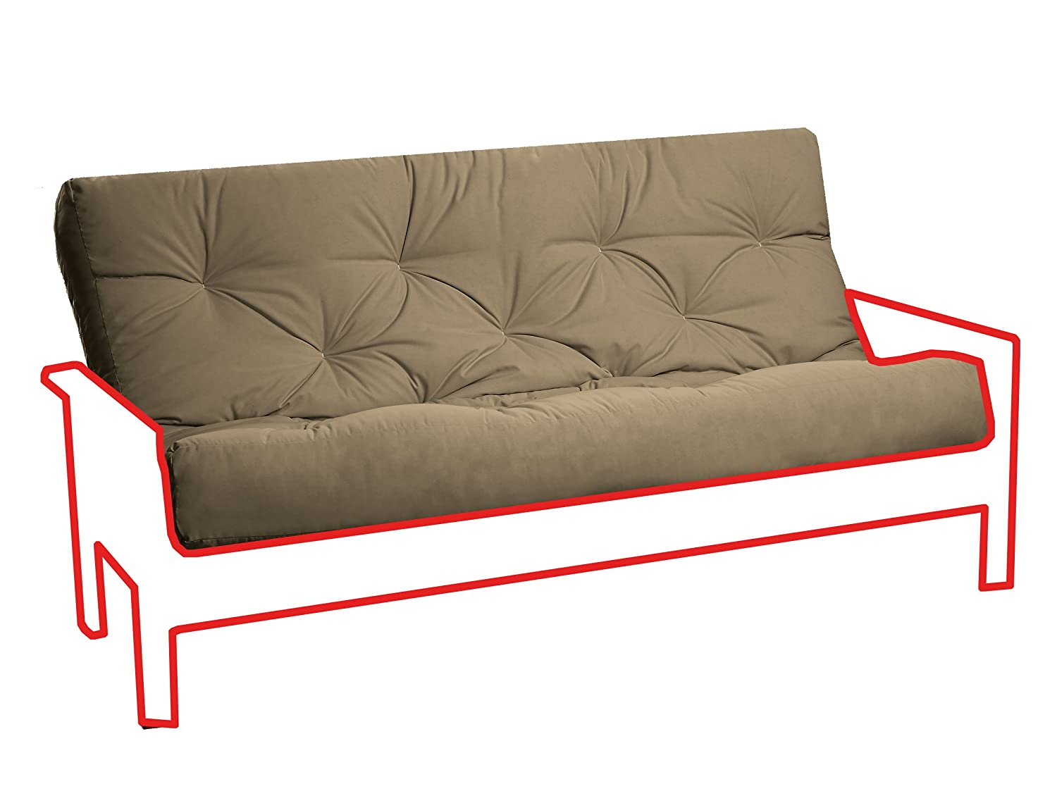 Royal Sleep Products New Replacement Futon Mattress