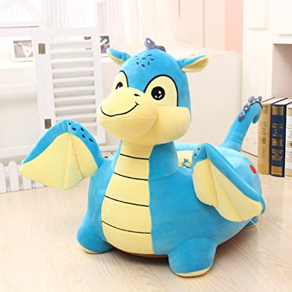 MAXYOYO Kids Plush Riding Toys Bean Bag Chair Seat for ChildrenCartoon Cute Animal Plush & Amazon.com: MAXYOYO Kids Plush Riding Toys Bean Bag Chair Seat for ...