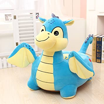 Great MAXYOYO Kids Plush Riding Toys Bean Bag Chair Seat For Children,Cartoon  Cute Animal Plush
