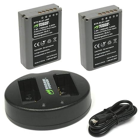 Wasabi energía de la batería y cargador para Olympus BLN-1 ...