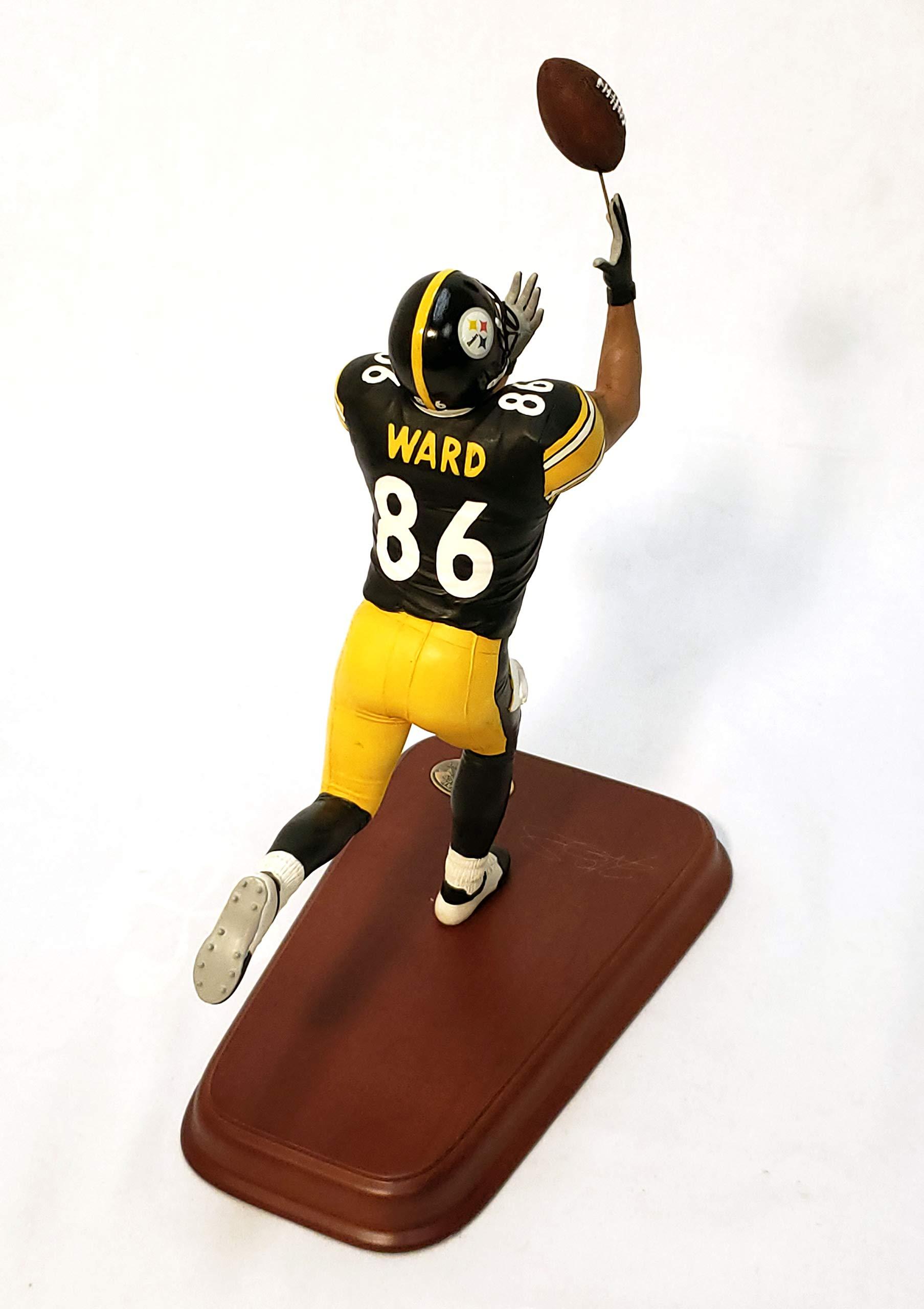 Pittsburgh Steelers Hines Ward Danbury Mint Statue Figurine w/COA