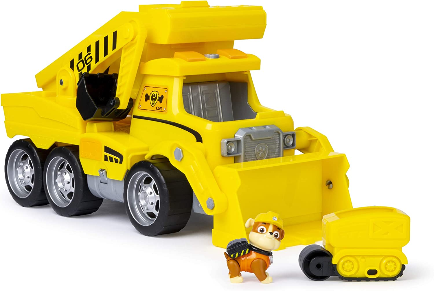 Paw Patrol Ultimate Rescue Construction Truck with Lights  Sound   Mini Vehicle