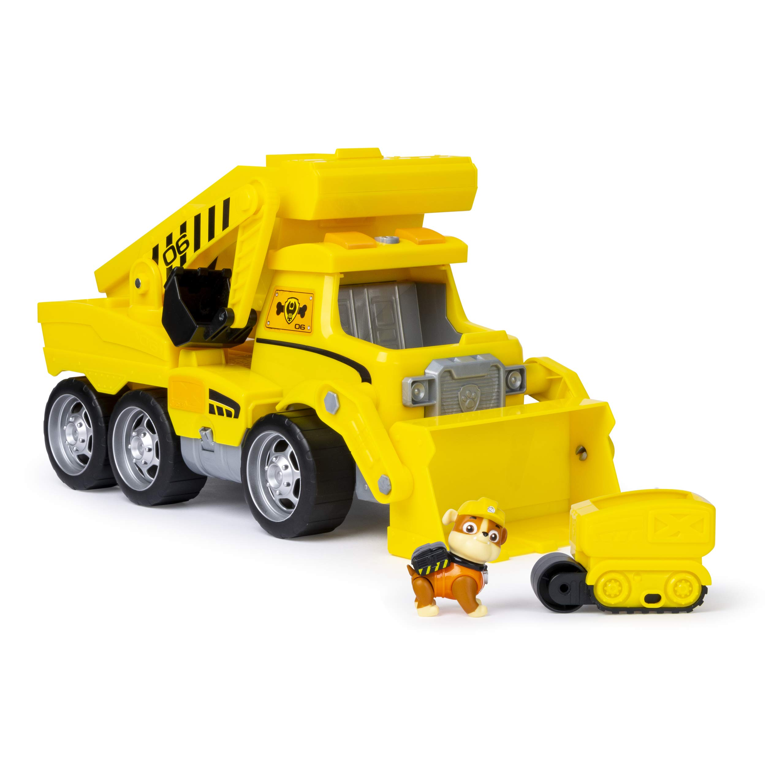 Paw Patrol, Ultimate Rescue Construction Truck with Lights, Sound & Mini Vehicle, for Ages 3 & Up by Paw Patrol