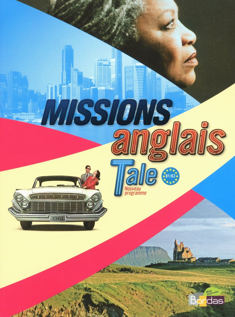 Missions Anglais Terminale B1 B2 1cd Audio Vincent