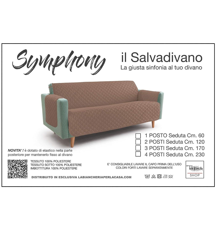 Sofá TR Funda Symphony Acolchada y Pardo - 3 plazas sesión ...