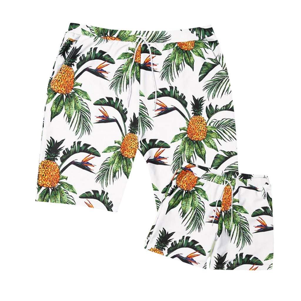 NUWFOR Baby Boys Swimwear Running Surfing Sports Beach Shorts Trunks Board Pants(White-Kid,6-7Years)