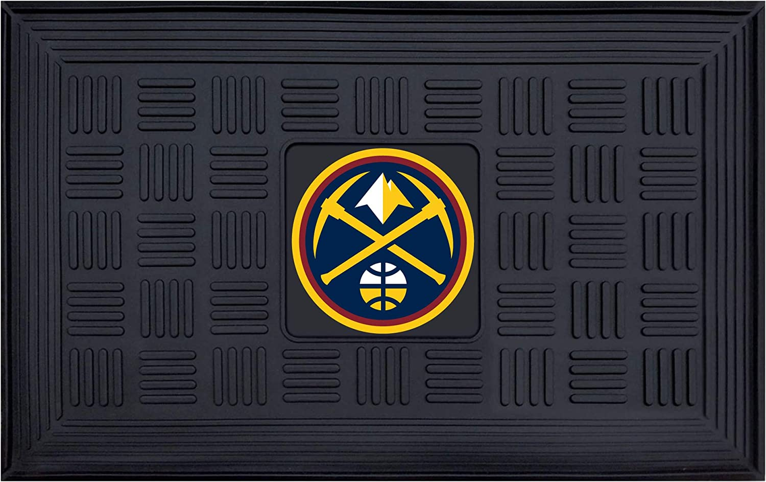 FANMATS NBA Denver Nuggets Vinyl Door Mat