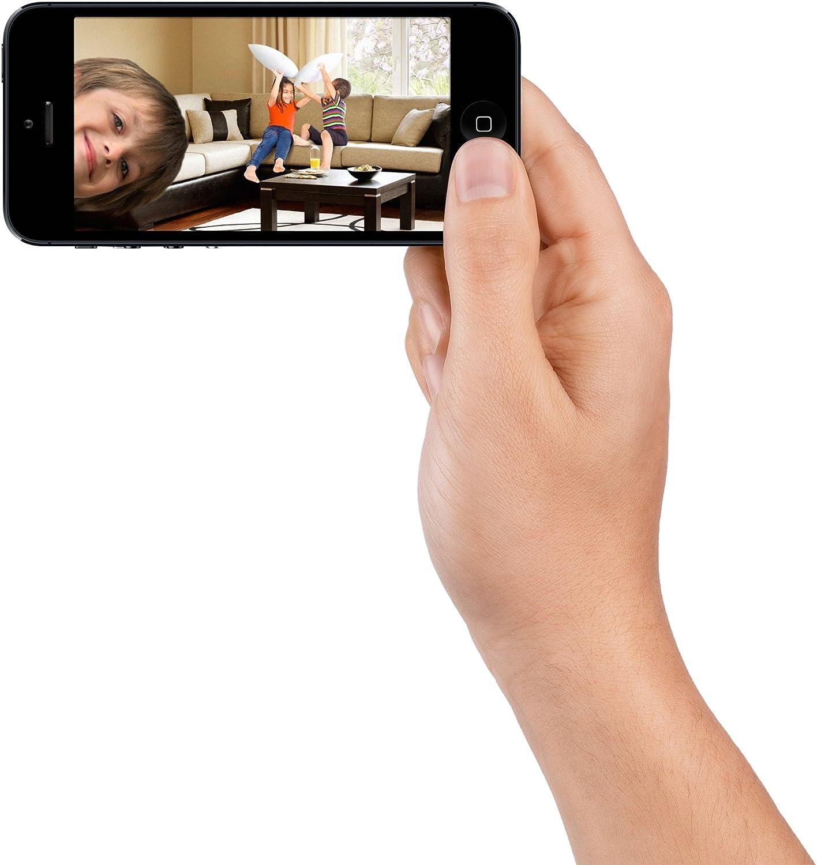 Belkin NetCam HD F7D7602as - Cámara WiFi en HD con visión Nocturna ...