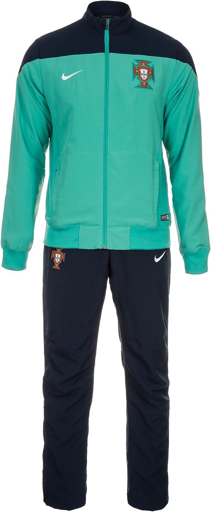 Nike Chándal Portugal Entreno -Turquesa- 2014: Amazon.es: Deportes ...