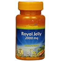 Thompson Royal Jelly, Ultra Potency, 2000 Mg, 60  Capsules