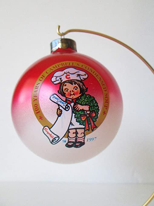 New 1997 Campbell/'s Soup 100 Years Christmas Ball ornament collector/'s edition