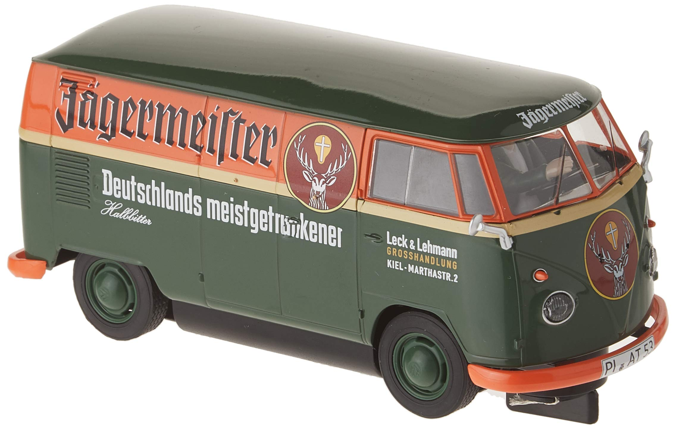 Scalextric Volkswagen Jagermeister Panelvan 1:32 Slot Race Car C3938 by Scalextric (Image #1)