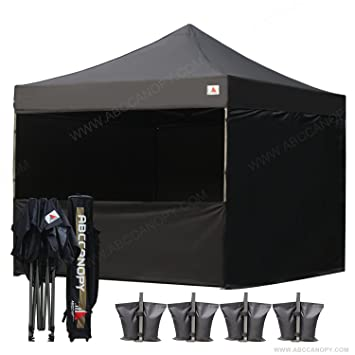 ABCCANOPY Commercial 10x10 Instant Canopy Craft Display Tent Portable Booth Market Stall with Wheeled Carry Bag  sc 1 st  Amazon.com & Amazon.com: ABCCANOPY Commercial 10x10 Instant Canopy Craft ...