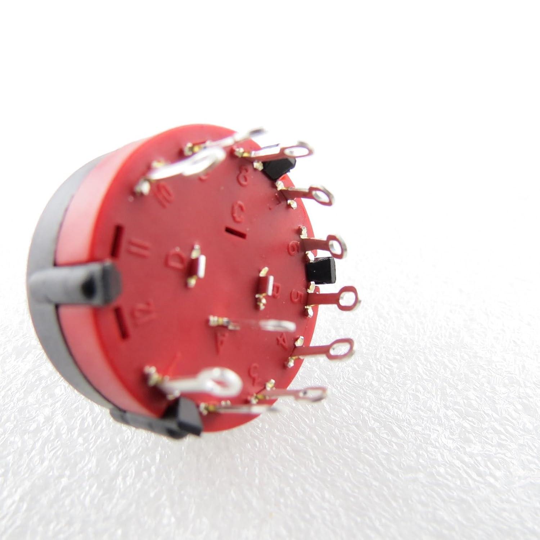 Drehschalter mehrpolig NINIGI Dreh Schalter stellig / polig ...