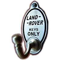 Land Rover Owners Key Hook / Coat Hook (EXCLUSIVE DESIGN) Solid Pewter