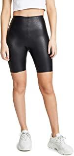 product image for commando Women's Faux Leather Bike Shorts