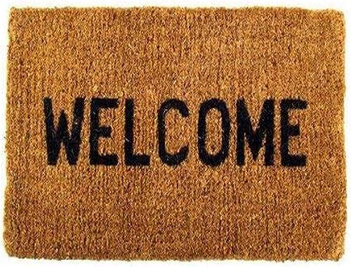 Welcome Coco Coir Doormat