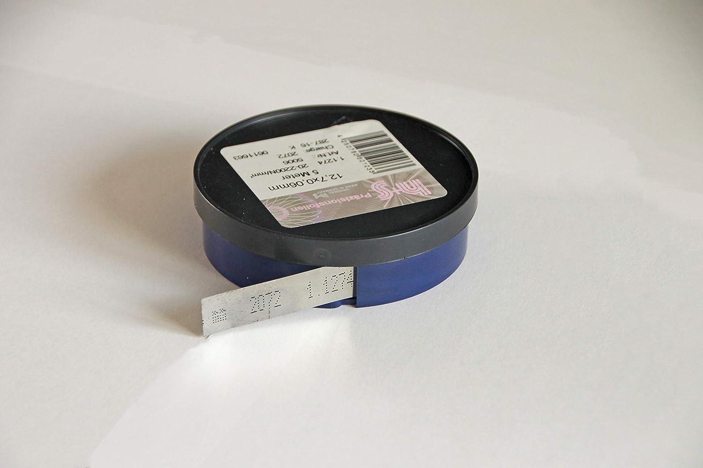 Präzisionslehrenbänder Rostfreistahl 1.4310 Rollen Breite 150 mm Dicke 0,1mm B07KYSVYX4 | Haltbarkeit